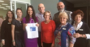 The Dickson Seniors Council with the 2015 Australian Local Hero Juliette Wright.