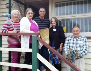 p30 U3A Pine Rivers:  Some of the Thursday Mah-Jong players, who are hoping to move into our new premises at the old Kallangur Library building when we open it